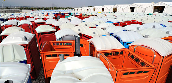 Champion Portable Toilets in Fargo, ND